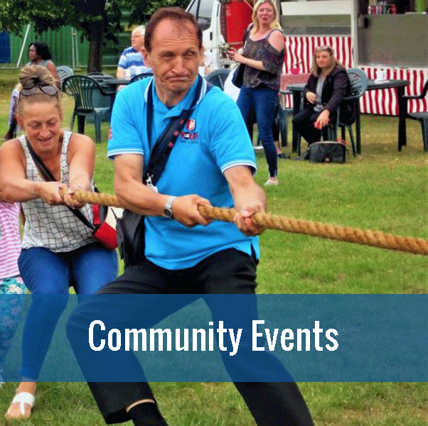 Community events, click to find out more